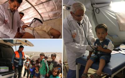 L'aide croissante des médecins aux frontières de l'Europe